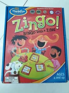 🚚 Thinkfun Zingo Bingo with a Zing