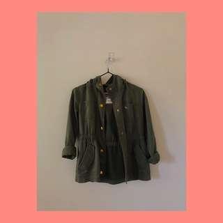 Collaroy khaki jacket