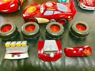Lightning McQueen Assemble Parts