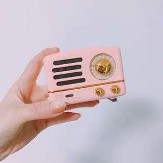復古藍牙speaker
