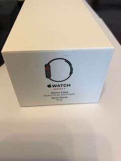 Apple Watch s3 3 42mm LTE 太空灰鋁殼灰色運動帶