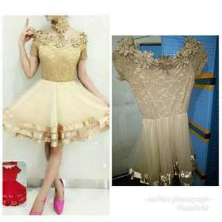 Gaun malam/Sexy Dress/Dress Nude