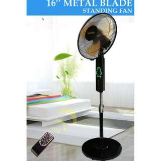"16"" Metal Blade Standing Fan with Remote control- Price Negotiable."