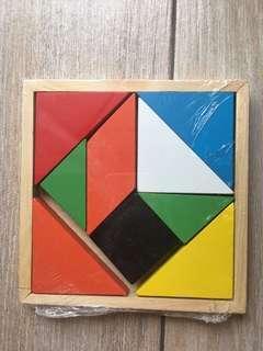 Montessori style teaching blocks