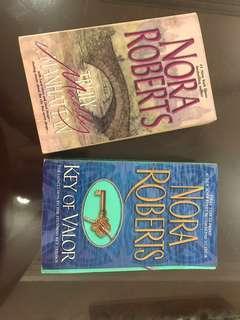 Nora Roberts Novels #APR10 #SnapEndGame