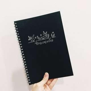 Customizable Muji Notebooks