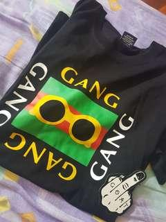 Gucci gang shirt