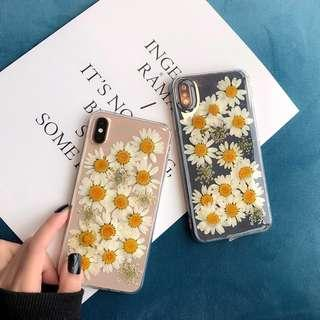 [PO] transparent daisy iphone case