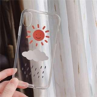 [PO] transparent sun iphone case