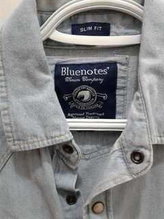 Bluenotes button shirt xs skim fit (men's