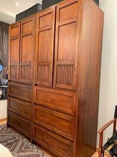Teak Wardrobes & Shelves (John Erdos Furniture)