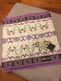 全新Anna Sui 手巾/毛巾