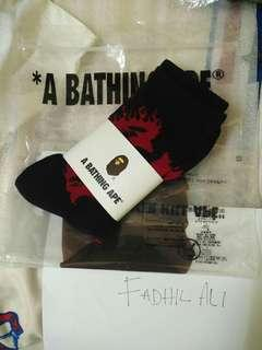 A BATHING APE socks