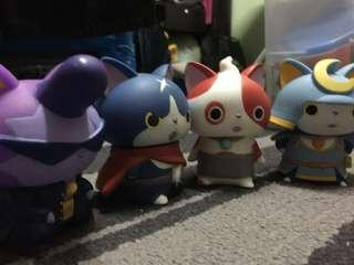 Yokai watch nyan Figures