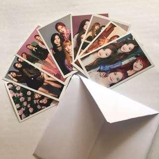 Blackpink group photo cards