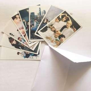 BTS group photo cards