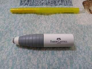 🚚 德國FABER-CASTELL旋轉橡皮擦削筆器