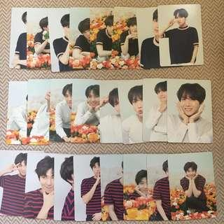 BTS official loveyourself love yourself mini photocard PC JAPAN ( LAST FEW )