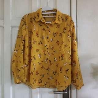 Monalisa NEW mustard blouse