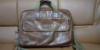 Kickers Leather Sling Bag