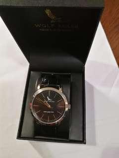 japan genuine leather quartz movement Watch