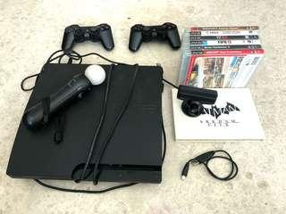 🚚 Playstation 3 + Motion Controller + Games