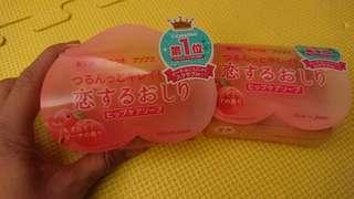 🚚 ◆現貨僅有兩個◆日本 蜜桃臀部去角質保濕 磨砂皂