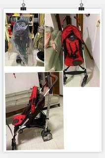 🚚 Stroller and booster seater