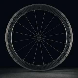 Xentis XBL 5.8 Clincher Carbon (Black) with Continental GP S II tyres