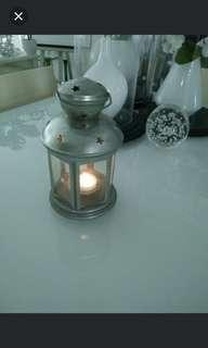 🚚 Silver tealight lantern