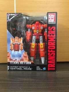 Transformers titan return sentinel prime  #EndgameYourExcess