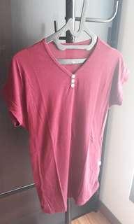 Maroon T-shirt