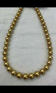 8-11mm 南洋金珠頸鏈