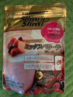 現貨得一包😋Asahi slim up slim 乳酸菌&雜莓拿鐵代餐