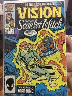 Scarlet Witch Comics
