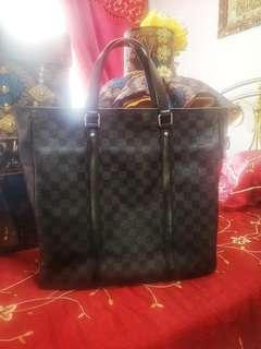 Authentic Prelove LV Tadao Tote Bag