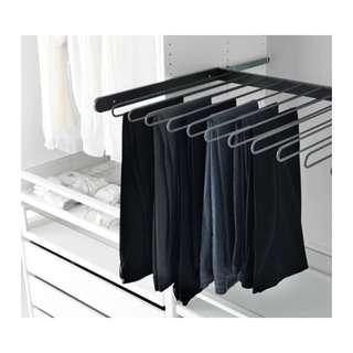 wardrobe pull out pants hanger ikea pax series