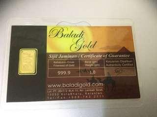 Gold Bar bar