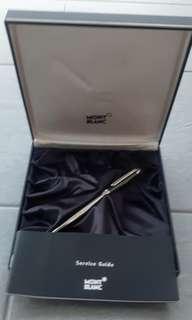 MONTBLANC MEISTERSTUCK Carbon Steel Ballpoint Pen