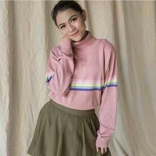turtle knit rainbow