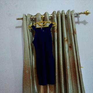 1x Dress Singapore Import Sg Blue