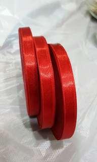 1cm ribbon 30m per roll@$6/roll💙