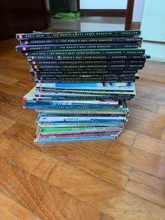 🚚 Old reader digest books dated from 2010 to 2018