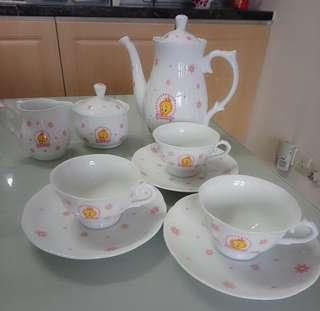 翠兒茶壺茶杯