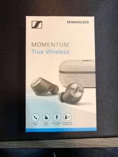Sennheiser MOMENTUM True Wireless 耳道式真無線藍牙耳機
