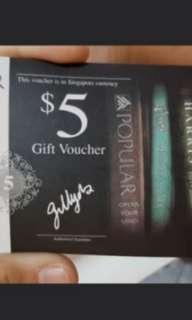 $80 worth of  popular voucher