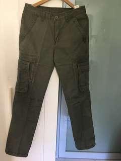 🚚 TOP fashion men cargo green clr