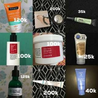 Prloved skincare and make up