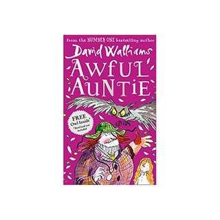 Listen      See this image  Follow the Author    David Walliams  + Follow Awful Auntie Hardcover – 2014  by David Walliams (Author) (Like New)