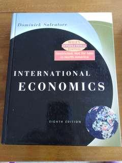 Dominick salvatore(International economics)